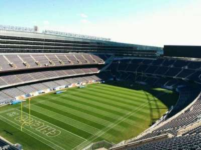 Soldier Field, section: 445, row: 19, seat: 10