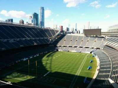 Soldier Field, section: b39, row: 1