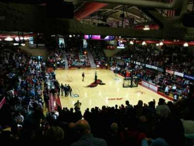 Hagan Arena, section: 218, row: 10, seat: 8
