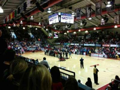 Hagan Arena, section: 201, row: 4, seat: 9