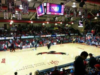 Hagan Arena, section: 205, row: 6, seat: 3