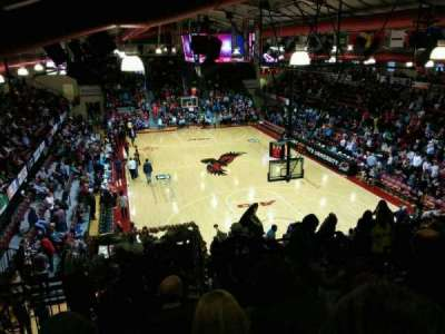 Hagan Arena, section: 209, row: 9, seat: 6