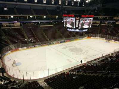 Giant Center, section: 217, row: c, seat: 6