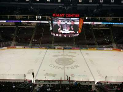 Giant Center, section: 220, row: b, seat: 10