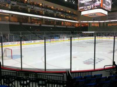PPL Center, section: 107, row: 7, seat: 7