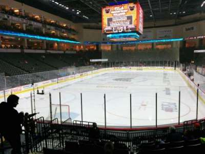 PPL Center, section: 109, row: 12, seat: 10
