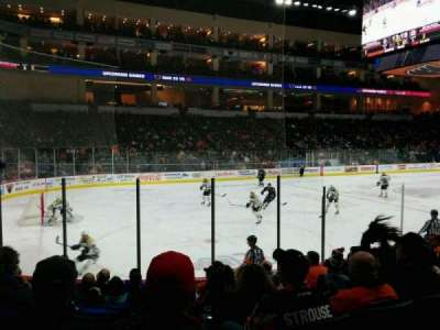 PPL Center, section: 107, row: 9, seat: 8