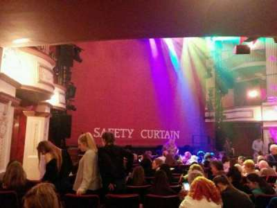 New Theatre (Cardiff), section: Lower Circle, row: p, seat: 6