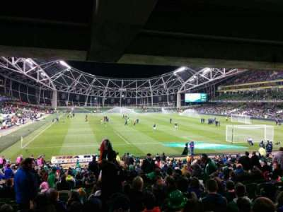 Aviva Stadium, section: 116, row: ee, seat: 22