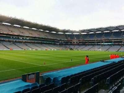Croke Park, section: 336, row: k, seat: 6