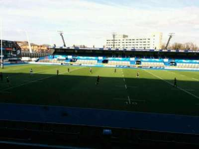 Cardiff Arms Park, section: 5, row: f, seat: 6