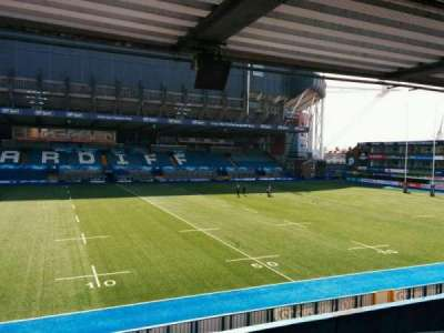 Cardiff Arms Park, section: 14, row: f, seat: 6