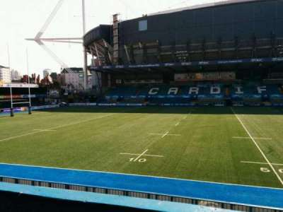 Cardiff Arms Park, section: 13, row: b, seat: 24