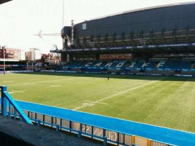 Cardiff Arms Park, section: 11, row: a, seat: 21