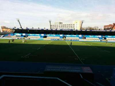 Cardiff Arms Park, section: 3, row: b, seat: 25