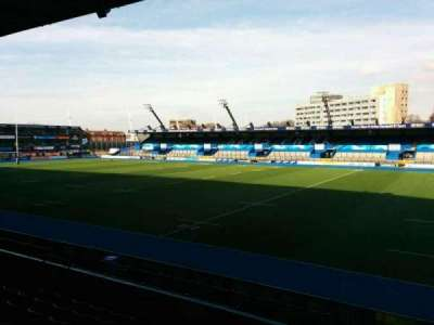 Cardiff Arms Park, section: 1, row: h, seat: 15
