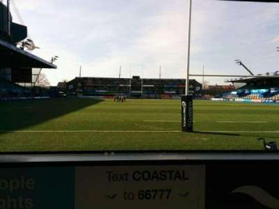 Cardiff Arms Park, section: 18, row: c, seat: 6