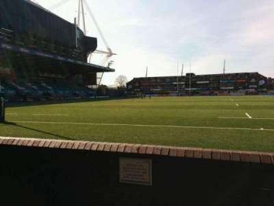 Cardiff Arms Park, section: 16, row: b, seat: 13