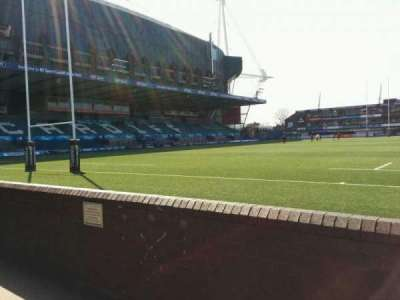 Cardiff Arms Park, section: 16, row: b, seat: 4