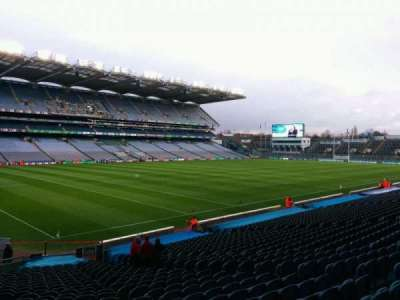 Croke Park, section: 311, row: cc, seat: 11