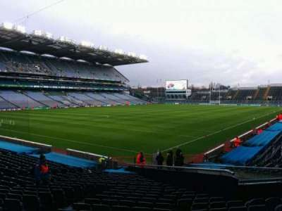 Croke Park, section: 314, row: z, seat: 9