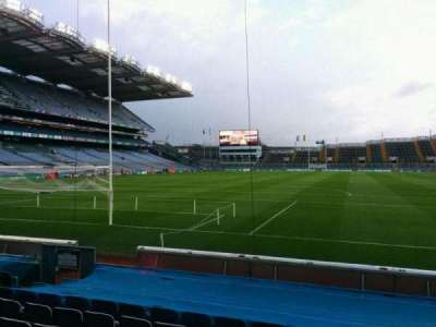 Croke Park, section: 317, row: k, seat: 3
