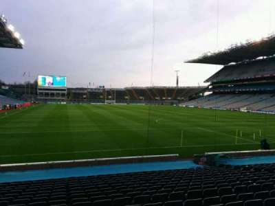 Croke Park, section: 321, row: u, seat: 16