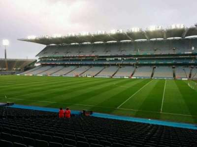 Croke Park, section: 327, row: dd, seat: 21