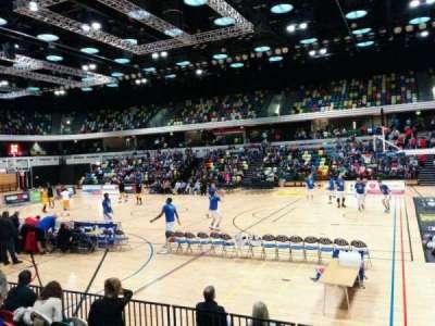 Copper Box Arena section 103
