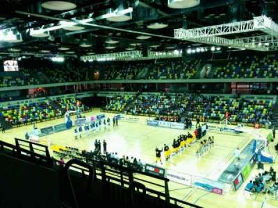 Copper Box Arena, section: 210, row: 15, seat: 35