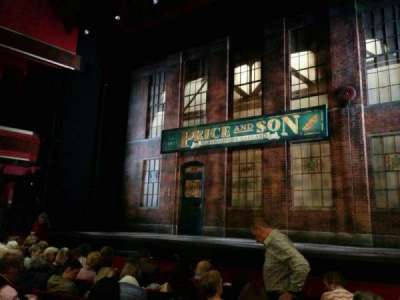 Adelphi Theatre, section: stalls, row: g, seat: 7