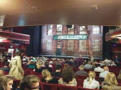Adelphi Theatre, section: stalls, row: r, seat: 9