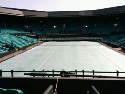 Wimbledon, Centre Court, section: 206, row: b