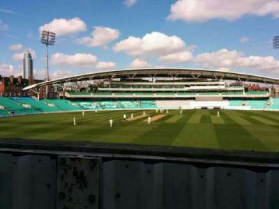 Kia Oval, section: middle pavilion, row: a, seat: 69