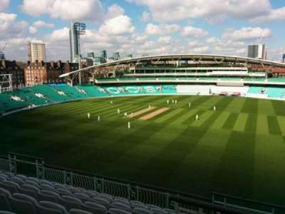 Kia Oval, section: Pavilion Top, row: h, seat: 16