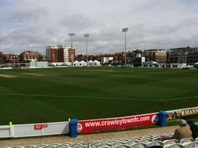 County Cricket Ground (Hove), row: k, seat: 25