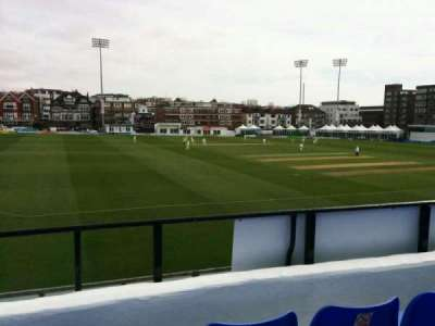 County Cricket Ground (Hove), section: L, row: c, seat: 41