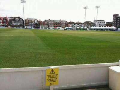 County Cricket Ground (Hove), section: spen cama pavilion, row: b, seat: 67