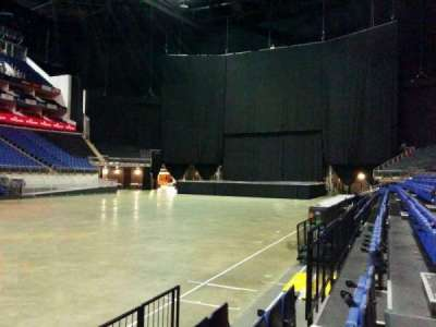 The O2 Arena, section: 110, row: d, seat: 310