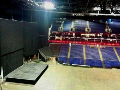 The O2 Arena, section: 402, row: d, seat: 493