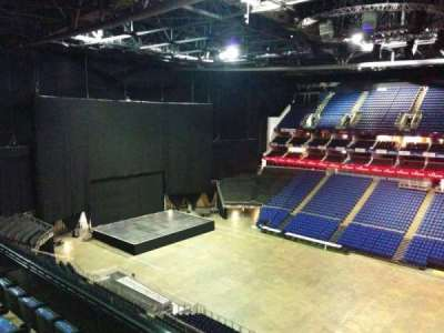 The O2 Arena, section: 405, row: d, seat: 555