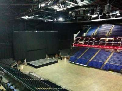 The O2 Arena, section: 406, row: d, seat: 574