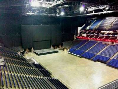 The O2 Arena, section: 408, row: d, seat: 622