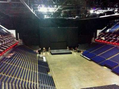 The O2 Arena, section: 409, row: d, seat: 665