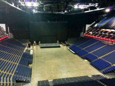 The O2 Arena, section: 410, row: d, seat: 689