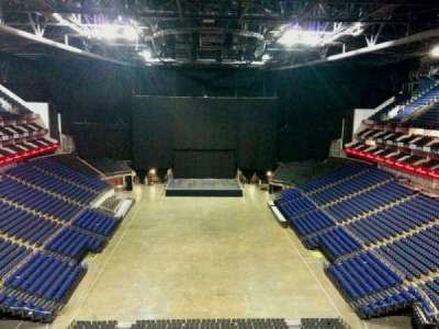 The O2 Arena, section: 411, row: d, seat: 718