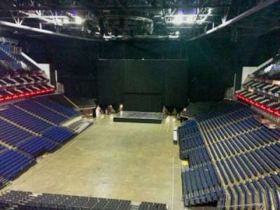 The O2 Arena, section: 413, row: d, seat: 745