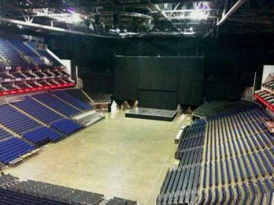 The O2 Arena, section: 414, row: d, seat: 768