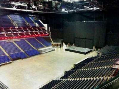 The O2 Arena, section: 416, row: d, seat: 833
