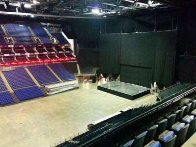 The O2 Arena, section: 418, row: d, seat: 885